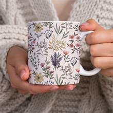 Load image into Gallery viewer, Spring Botanical Pattern - Mug
