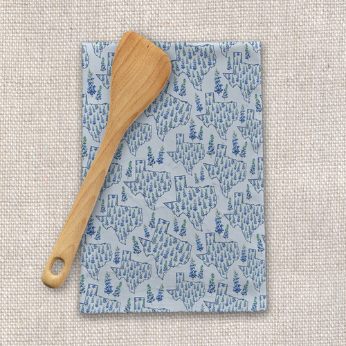 Texas Blue Bonnet Tea Towels