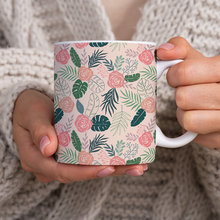 Load image into Gallery viewer, Tropical Floral Pattern - Mug