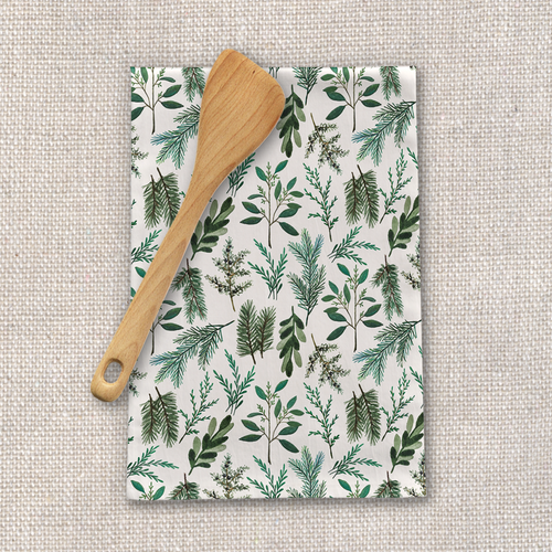 Winter Branch Tea Towel