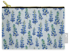 Blue Bonnets - Carry-All Pouch
