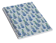 Load image into Gallery viewer, Blue Bonnets - Spiral Notebook