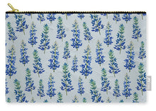Load image into Gallery viewer, Blue Bonnets - Carry-All Pouch