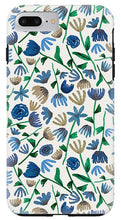 Load image into Gallery viewer, Blue Floral Pattern 2 - Phone Case