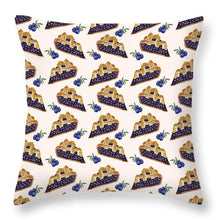 Load image into Gallery viewer, Blueberry Cobbler - Throw Pillow