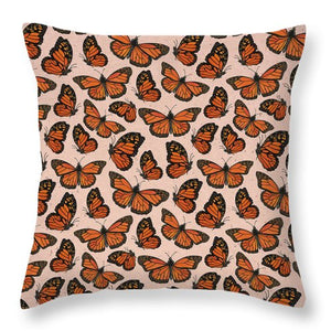 Butterfly Watercolor - Throw Pillow