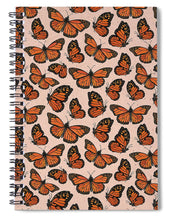 Load image into Gallery viewer, Butterfly Watercolor - Spiral Notebook