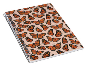 Butterfly Watercolor - Spiral Notebook
