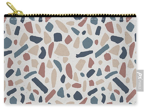 Cool Terrazzo Pattern - Carry-All Pouch