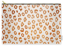 Load image into Gallery viewer, Copper Leopard Print - Carry-All Pouch