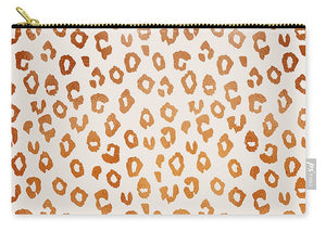 Copper Leopard Print - Carry-All Pouch