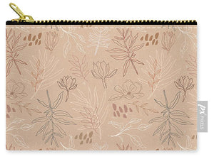 Desert Leaf Pattern - Carry-All Pouch