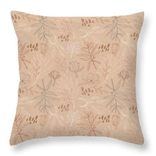 Load image into Gallery viewer, Desert Leaf Pattern - Throw Pillow
