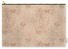 Load image into Gallery viewer, Desert Leaf Pattern - Carry-All Pouch