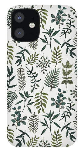 Fern Watercolor Pattern - Phone Case