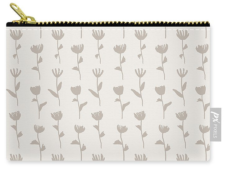 Floral Pattern - Carry-All Pouch