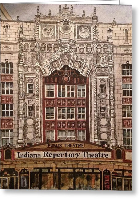 Indiana Repertory Theatre - Greeting Card