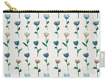 Load image into Gallery viewer, Colorful Ink Flower Pattern - Carry-All Pouch