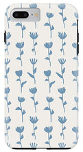 Load image into Gallery viewer, Light Blue Flower Pattern - Phone Case