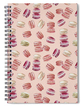 Load image into Gallery viewer, Macaron Pattern - Spiral Notebook