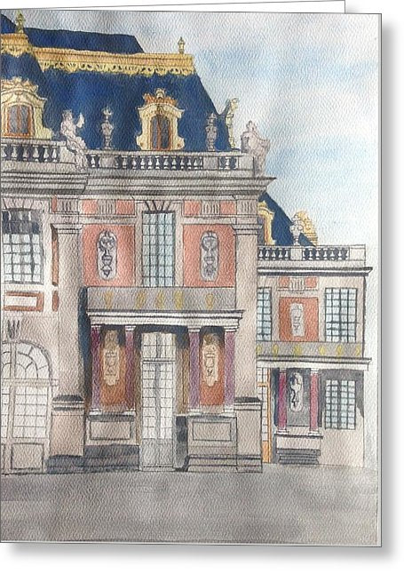 Palace Of Versailles - Greeting Card