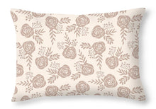 Load image into Gallery viewer, Pastel Floral Pattern - Throw Pillow