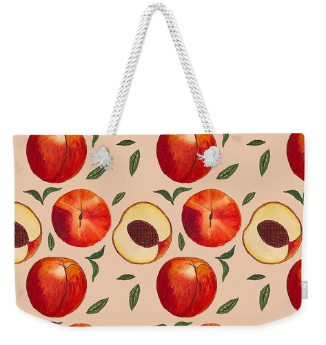 Peach Pattern - Weekender Tote Bag