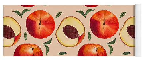 Peach Pattern - Yoga Mat