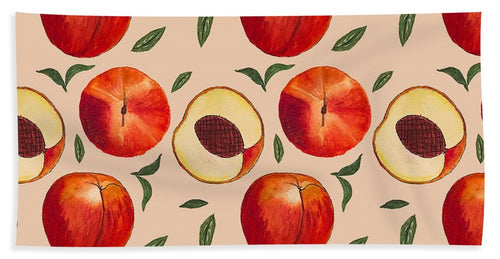 Peach Pattern - Beach Towel