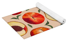 Load image into Gallery viewer, Peach Pattern - Yoga Mat