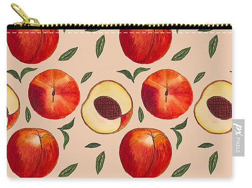 Peach Pattern - Carry-All Pouch