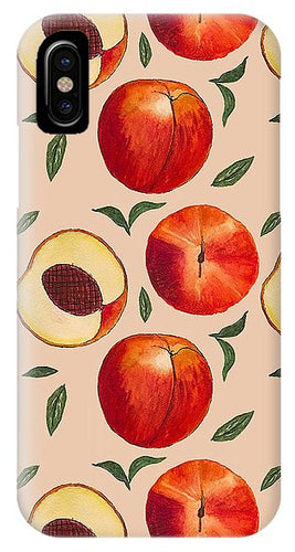 Peach Pattern - Phone Case