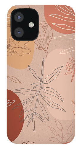 Pink Abstract Desert Pattern - Phone Case
