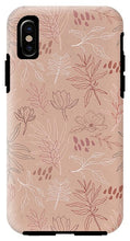 Load image into Gallery viewer, Pink Desert Leaf Pattern - Phone Case