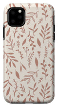 Load image into Gallery viewer, Pink Falling Leaves Pattern - Phone Case