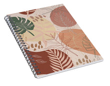 Load image into Gallery viewer, Pink Terracotta Pattern - Spiral Notebook