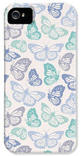Load image into Gallery viewer, Purple and Green Butterfly Pattern - Phone Case