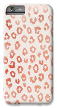 Load image into Gallery viewer, Rose Gold Leopard Print - Phone Case