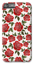 Load image into Gallery viewer, Rose Watercolor Pattern - Phone Case
