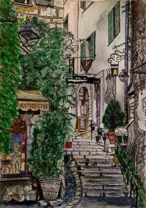 Saint-paul De Vence, France  - Wood Print