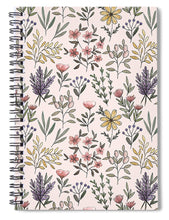 Load image into Gallery viewer, Spring Botanical Pattern - Spiral Notebook