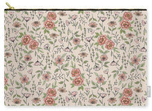 Load image into Gallery viewer, Spring Floral Pattern - Carry-All Pouch
