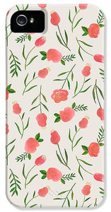 Spring Watercolor Flowers - Phone Case