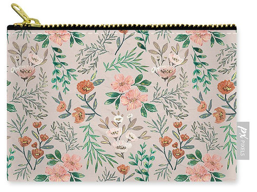 Springtime Pattern - Carry-All Pouch