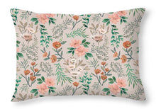 Load image into Gallery viewer, Springtime Pattern - Throw Pillow
