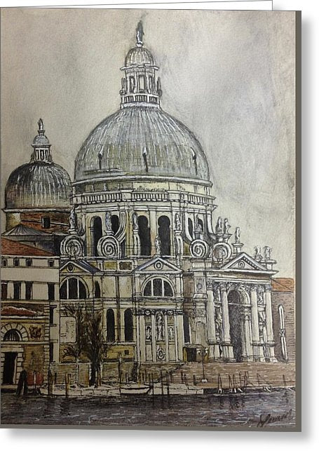 St. Mark's Cathedral - Greeting Card