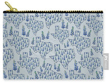 Load image into Gallery viewer, Texas Blue Bonnet - Carry-All Pouch