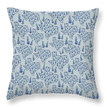 Load image into Gallery viewer, Texas Blue Bonnet - Throw Pillow