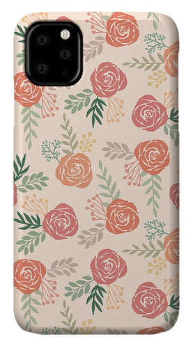 Warm Floral Pattern - Phone Case