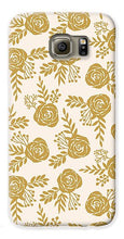 Load image into Gallery viewer, Warm Gold Floral Pattern - Phone Case